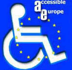 AccessiblEurope Tourism For All Logo