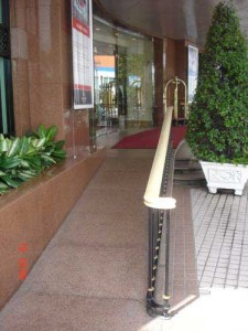 Services hotels guesthouses apartments - Accessible Hotel Ramp