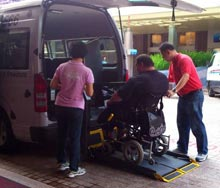 Services accessible transports - Accessible shore excursion