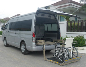 Accessible van to rent without driver