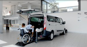 Services accessible transports - Accessible van 7 pax/1 wc