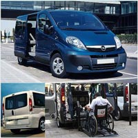 Services equipment rentals - Accessible vehicles to rent without driver