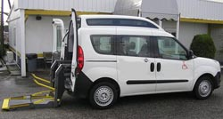 Services for accessible tourism - Accessible van rentable without driver