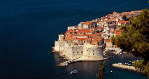 Other accessible European Countries - Croatia - Dubrovnick - Old town landscape