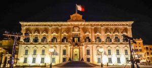 Malta - Valletta - Auberge-de-Castille