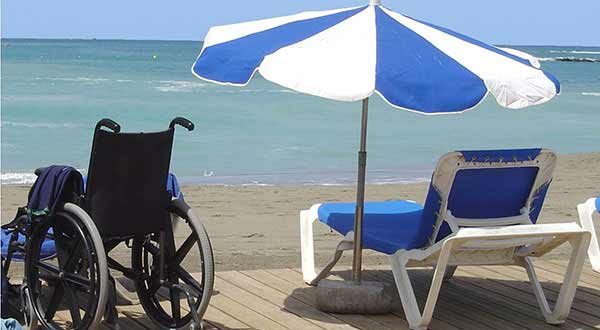 Accessible seaside holidays - Spain - Tenerife - Beach