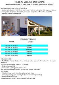 France Atlantic accessible resort - La Rochelle