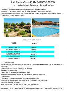 France Mediterranean accessible resorts - Perpignan