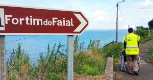 Madeira accessible 10D tour - Visit to Fortim do Faial