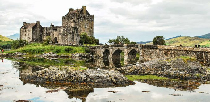 Escorted accessible tours 2021 - Eilean Dolan Castle