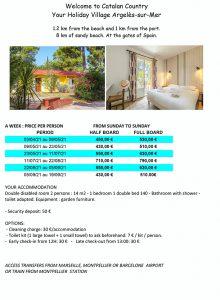 Accessible holiday France resort - Argeles sur Mer