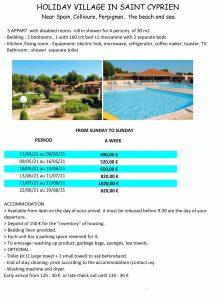 Accessible Mediterranean holiday resorts .- Saint Cyprien