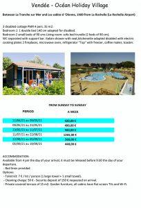 Atlantic accessible holiday resorts - Vandee Ocean