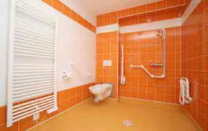 France accessible by accessible van - Accessible  bath room