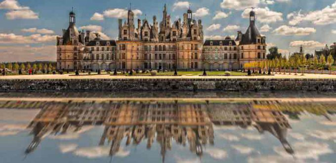 France accessible by accessible van - Loire valley - Chambord Castle